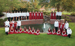 Centenary College Choir, 2013