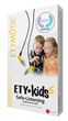ETY•Kids packaging (available in pink, yellow & black)