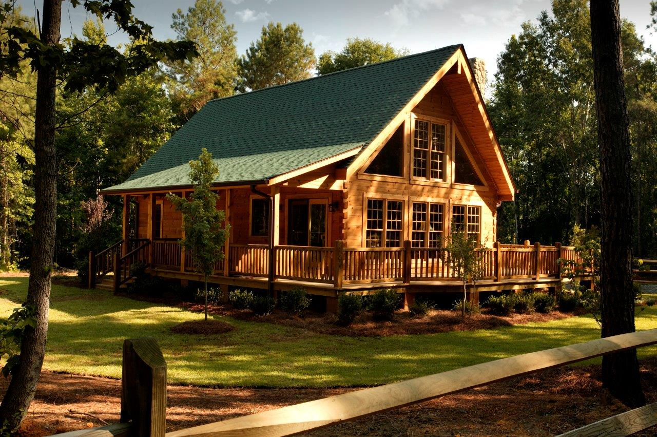 Southland log homes announces opening of newest model home - Interior pictures of small log cabins ...