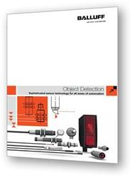 Balluff's new Object Detection Sensor Catalog