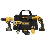 Image of the DEWALT 12-Volt MAX 4-Tool Combo Kit