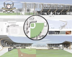 Renderings for new baseball stadium on staten island