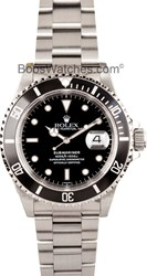 Rolex Submariner 16610 Black Steel