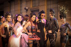 Grabber's Models at the 2012 Pink Party