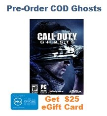 Pre-Order COD Ghosts
