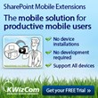KWizCom Presents the Only Customizable SharePoint Mobile Solution with...