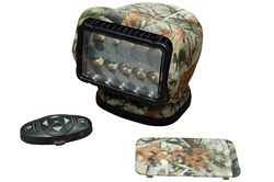 Larson Electronics Releases Remote Control LED Golight with Camouflage Finish