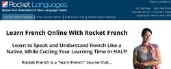 how to learn french fast how rocket french premium