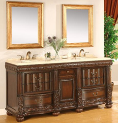 "B&I Direct 72"" Bathroom Vanity, Kendal 1310BL"