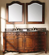"James Martin Solid Wood 72"" Tanya Classic Bathroom Double vanity with a Countertop 206-001-5522"