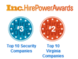 New Horizon Security Services, Inc. Ranked on Inc. Magazine's Hire Power Awards List for 2nd Year in a Row