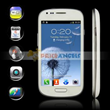 "GT i8190 Mini S3 MTK6515 Android 4.1.1 Smartphone Single SIM Quad Band with 4.0"" Capacitive HD Screen (White)"