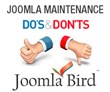 Joomla Bird - Do's and Don'ts for Joomla Website Maintenance