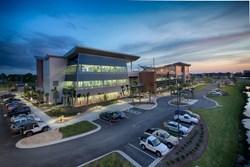Gulf Coast State College ATC at twilight