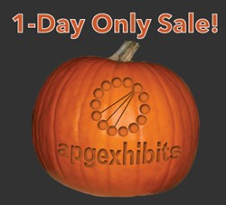 APG Exhibits 10% Off Halloween Sale