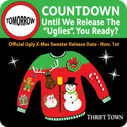 Thrift Town Releases Ugly Christmas Sweaters!