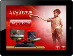 QA Graphics developed an educational mobile app for Skewed News Tutor.