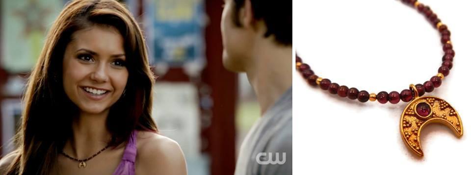 Elena Gilbert Actress Nina Dobrev Wears Jewelry By