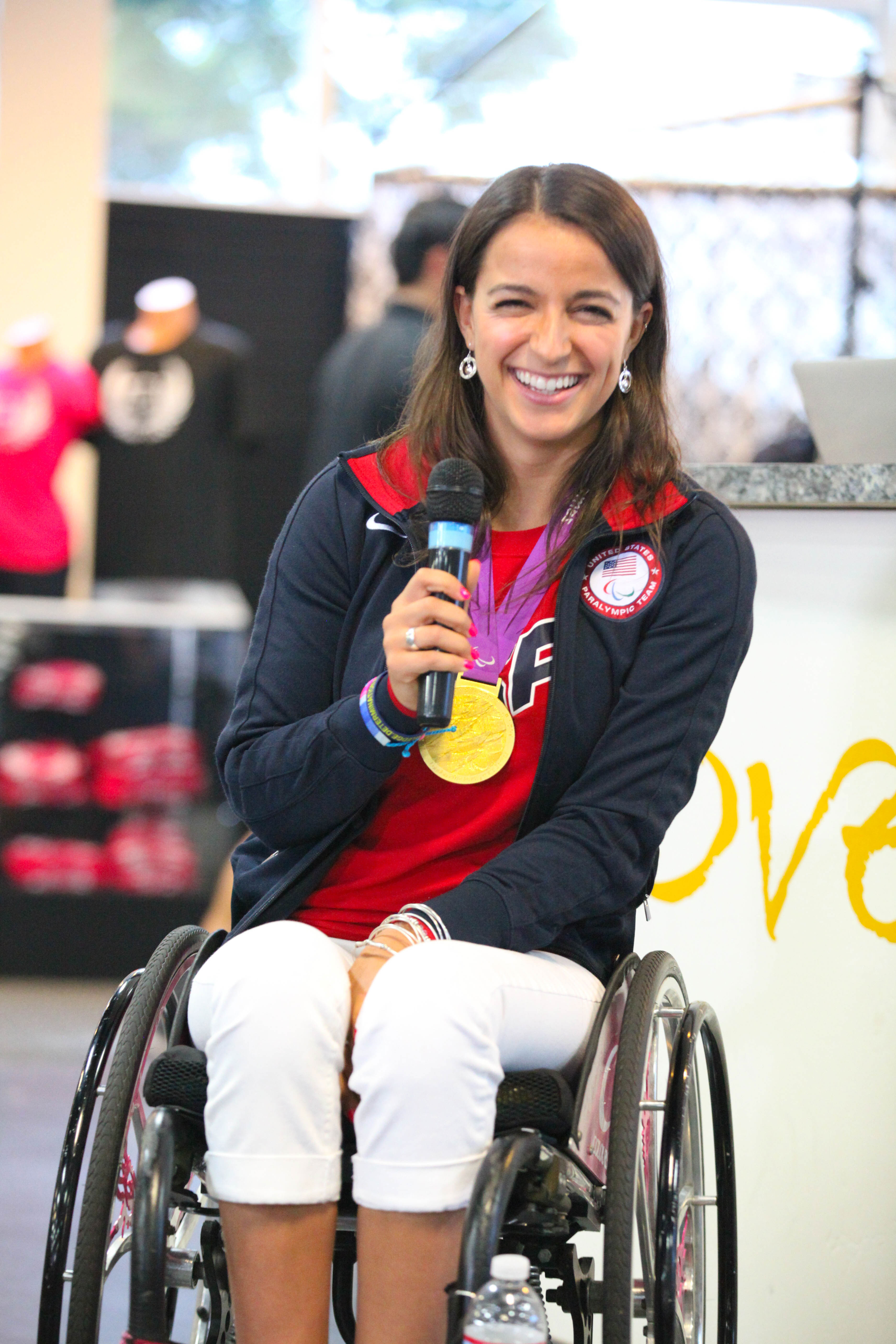 From Hope to How Soon? Paralympian and Gold Medalist, Victoria ...