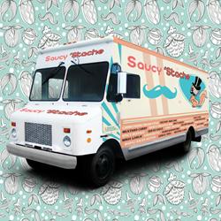 Saucy 'Stache Miami Food Truck