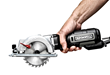 Rockwell Compact Circular Saw has a 4-1/2 in. blade and is 50% lighter than conventional 7-1/4 in. circular saws.