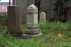 Image of Tombstones in the Lawrence Cemetery, Bayside, New York