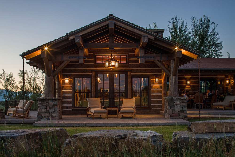 Log home manufacturer rocky mountain log homes honored by for Home by home