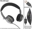 Transcription Transcriber Headset Overhead Earphone Underchin