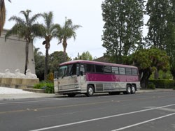 party bus, San Jose