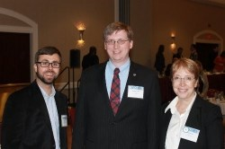 Will Hatver, Matthew Howell, and LeAnn Beaty at SECOPA