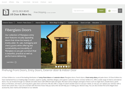 doorNmore website anap shot