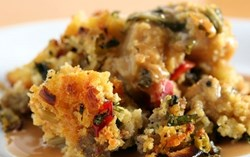 Thanksgiving seafood stuffing recipe from GetMaineLobster.com