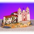 San Barbara Mission miniature