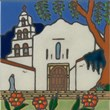 Mission San Diego ceramic tile