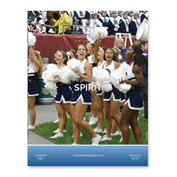 Cheerleading Blog University releases a new eBook on spirit