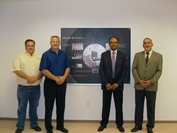 Fagor Automation CEO and North America General Manager with DMS CEO and Executive Vice President at new DMS World HQ