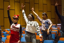South High Students perform Memphis finale