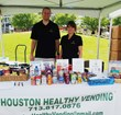 Shelley Levine & Corban Bates were one of four vendors approved by the Houston Independent School District for healthy vending