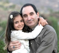 California Space Management's President, Curtis Dadian and his daughter, Lacey who was diagnosed with Leiomyosarcoma in 2011.