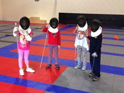 Little Fencers at the Fencing Class at Academy of Fencing Masters