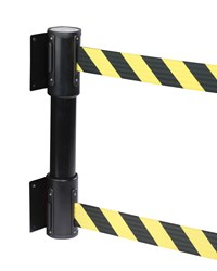 WallPro Twin Dual Tape Retractable Belt Barrier