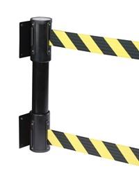 WallPro Twin Dual Tape Retractable Belt Barrier