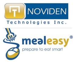 Noviden Technologies Inc and MealEasy.com
