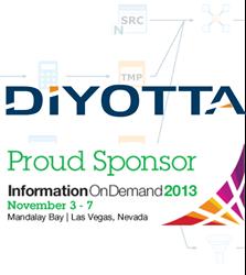 diyotta, elt, etl, proud sponsor, IBM, IOD, data integration, big data, hadoop, netezza, unified, teradata, hadoop, cloudera