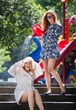Mosey & Lark Cabana Print Ladies Raincoat