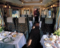 Orient Express Northern Belle from Train Chartering and Luxury Train Club