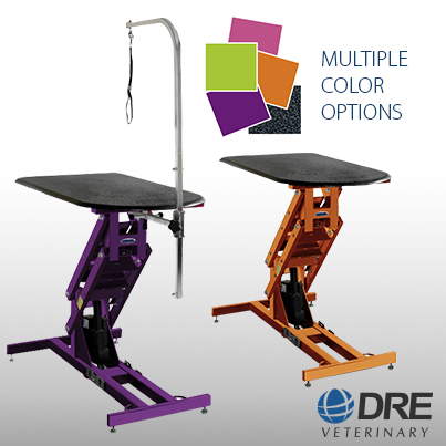Dre veterinary releases new line of grooming and exam tables for New line in the table