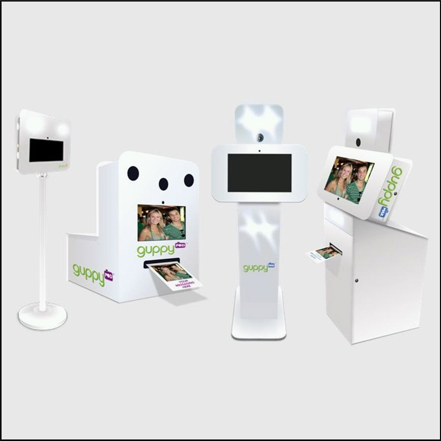 Guppy Photo Booths Unveils Scalable Social Media Kiosk