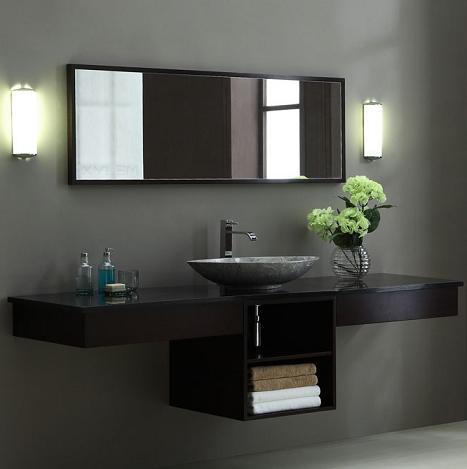 wall mounted makeup station. v-blox-sh20dw - blox bathroom vanity 20\ wall mounted makeup station a