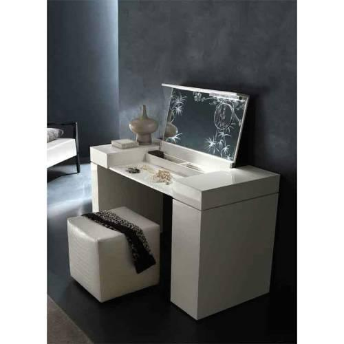 Nightfly Dressing Table, Rossetto Dressers / Chests From NIGHTFLY WHITE  BEDROOM Collection, ...